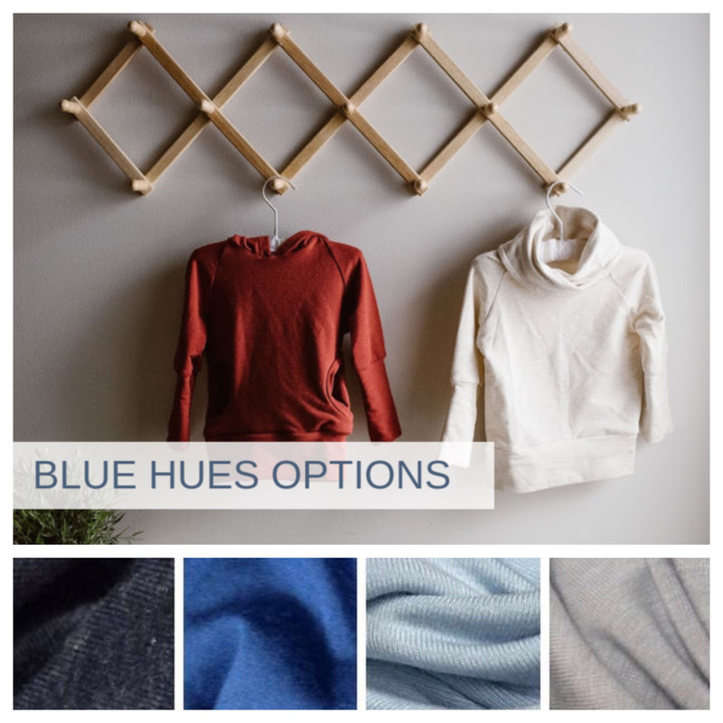 Cowl Neck with pockets | BLUE HUES PREORDER