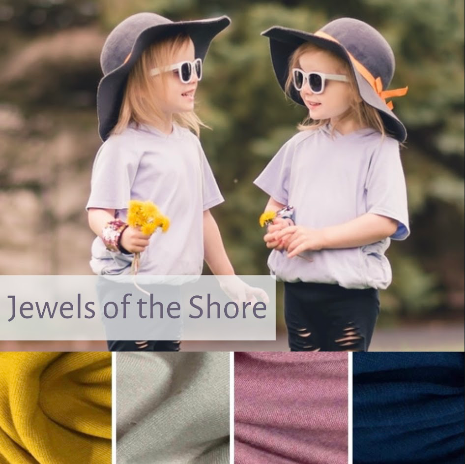 Hooded or Cowl Neck Shirt with pockets | Jewels of the Shore | LIGHTWEIGHT PREORDER