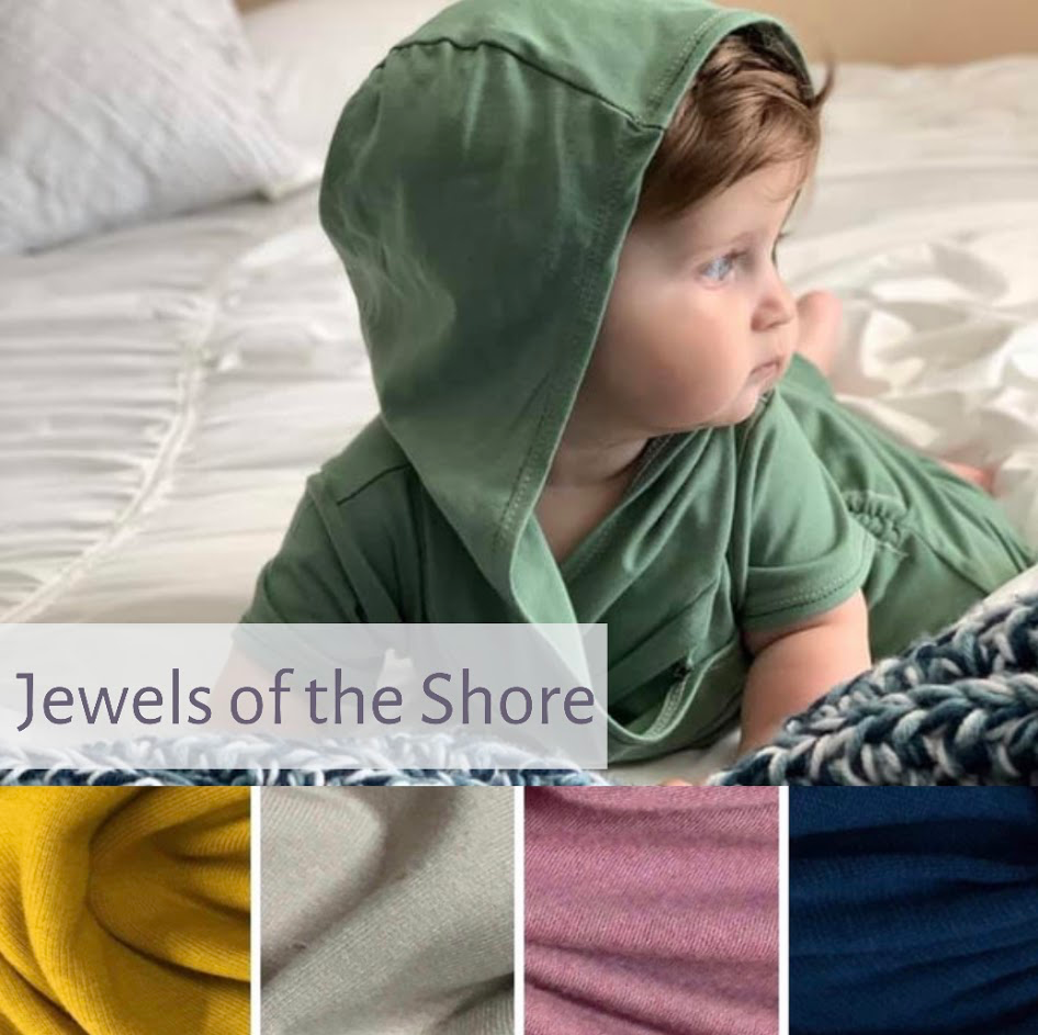 Hooded Romper | Jewels of the Shore | LIGHTWEIGHT PREORDER