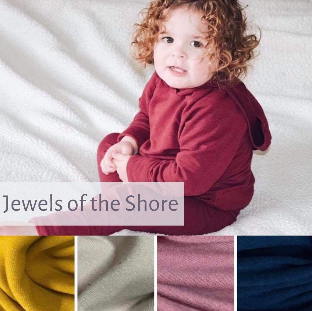 OUTFIT | Hooded or Cowl Neck Sweatshirt and Joggers | Jewels of the Shore | Lightweight PREORDER