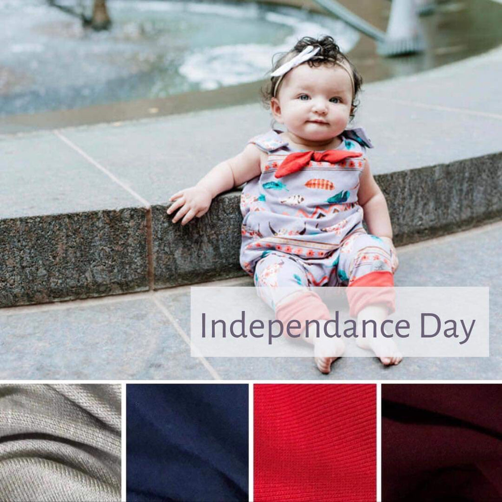 On the Grow Romper | Independence Day | Lightweight PRE-ORDER