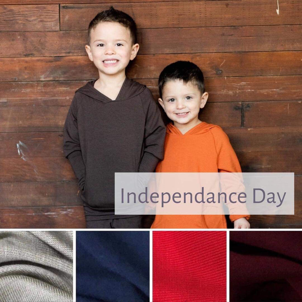 Hooded Top with pockets | Independence Day | LIGHTWEIGHT PREORDER