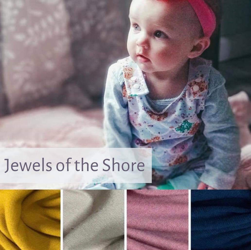 On the Grow Romper | Jewels of the Shore | Lightweight PRE-ORDER
