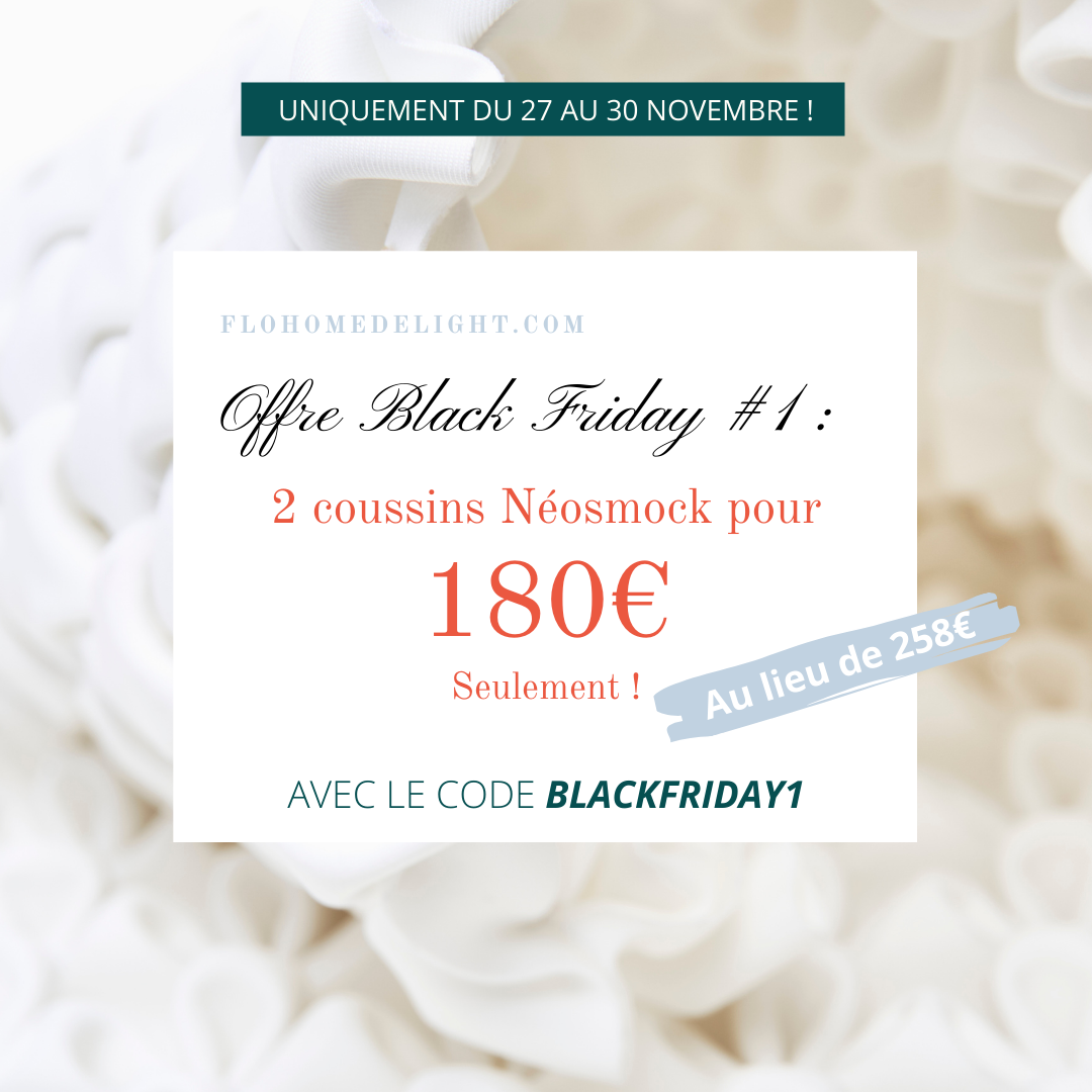 black friday promotion Flo Home Delight