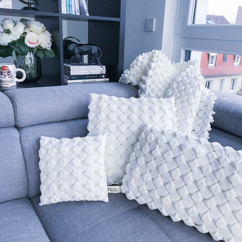 coussins Flo Home Delight cocooning cozy moelleux