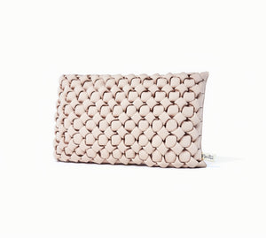 Le Coussin Rectangulaire Néosmock - Sable - Flo Home Delight