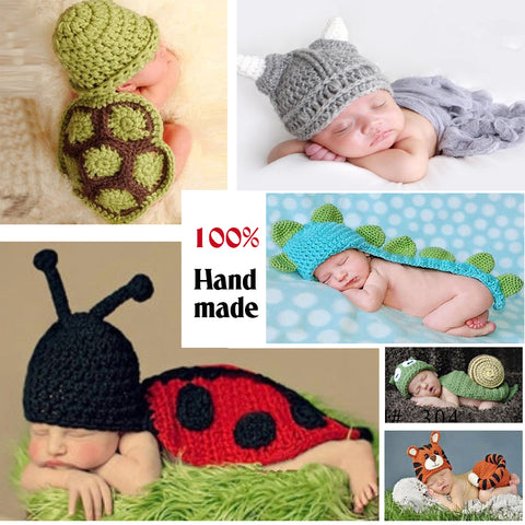Cute !! Soft Newborn Baby Photography Props Baby Hat