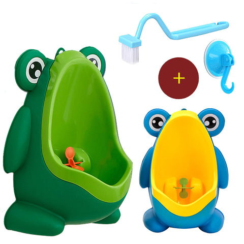 Kids Frog Potty Toilet Urinal Pee Trainer