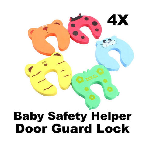 4pcs Baby Safety Door Stop Finger Pinch