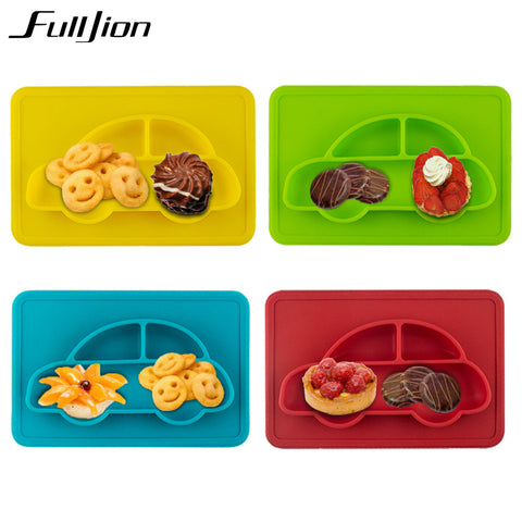 Fulljion Baby Bowls Plate Tableware Children Food Dishes