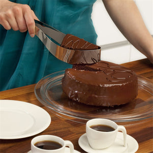 All In One Dessert Slicer & Server. (Stainless Steel And Plastic Available)