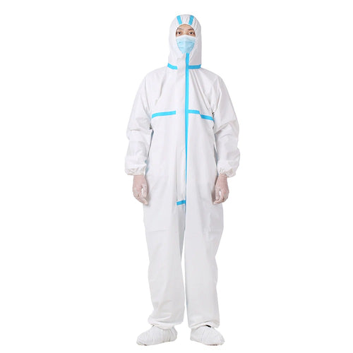 Antistatic Isolation Liquid Proof Universal Disposable Coverall Suit.