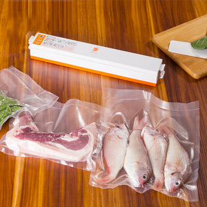 Professional Household Food Vacuum Sealer. (15 Plastic Bags Included)