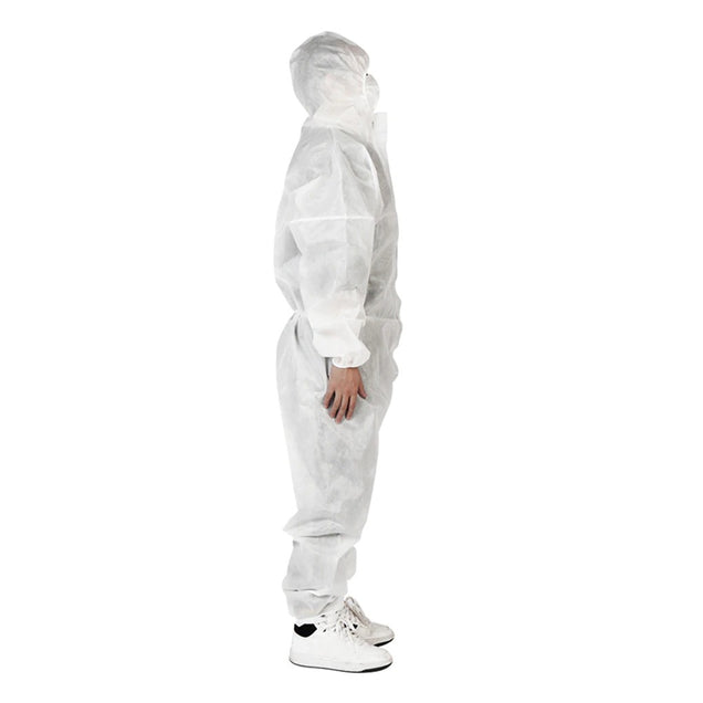 Liquid Proof Oil Resistant Disposable Protective Coverall Work Suit. (2 Colors Available)