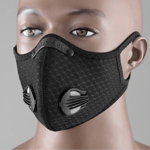 KN95 Filter Micro-Particle Barrier Antiseptic Respirator (100% Reusable Anti-Virus Protection Mask)
