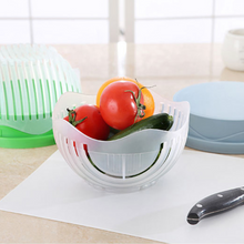 One Minute Vegetable & Salad Chopper Bowl. (3 Colors Available)