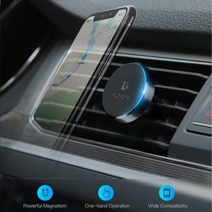 Strong Magnetic Vehicle Air Vent Phone Mount Holder. (4 Colors Available)