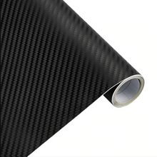3D Carbon Fiber Car Styling Waterproof Vinyl Wrap. ( 12 Colors Available )