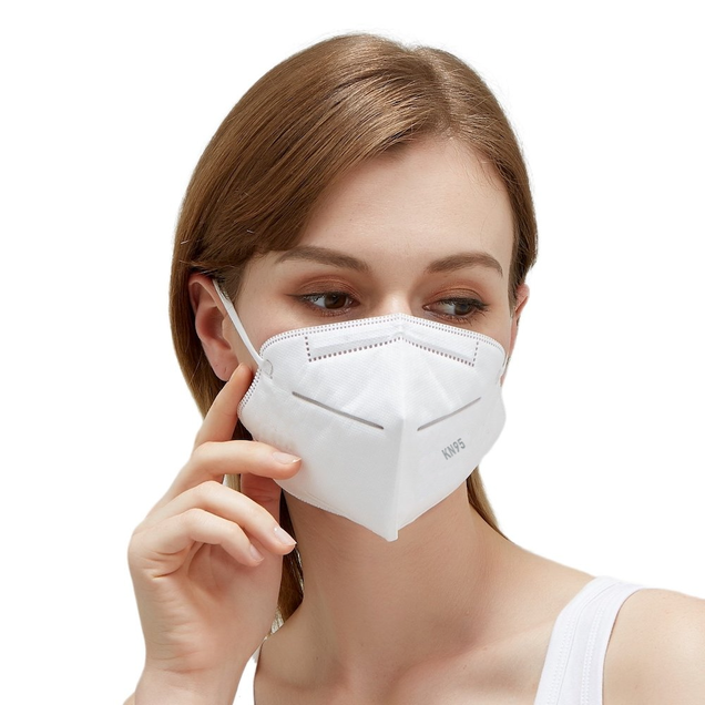 Class N95 Protection Micro-Particle Barrier Fitted Mask. (1pc, 5pcs, 10pcs, 50pcs)