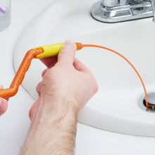 Anti-Clog Flexible Drain Weasel Tool By Gadget Plot (Hair Removing Drain Snake)