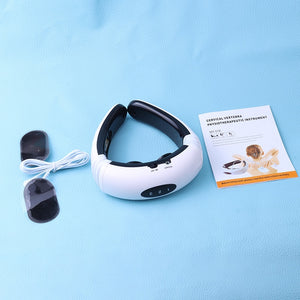 Professional Electric Pulse Back & Neck Far Infrared Massager. (Physiotherapy Pain Reliever)