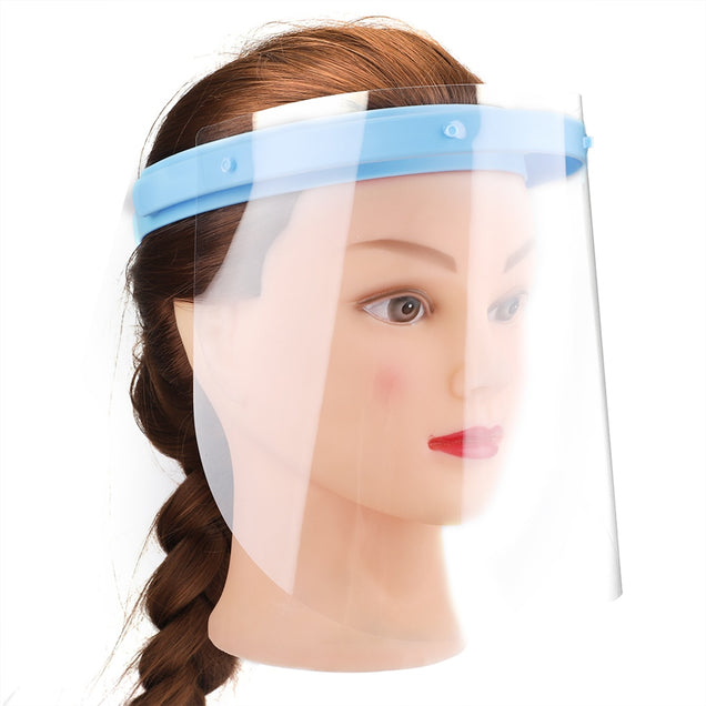 Adjustable Fog Proof Anti-Dust Liquid Splashing Protection Face Shield.