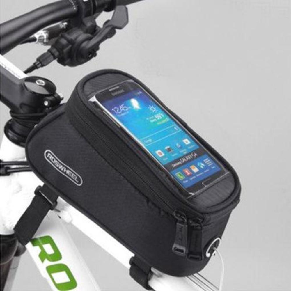 Water Resistant Bicycle Mobile Phone Holder & Accessory Carrier Bag.