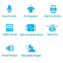 Auto Recording 1080HD Voice Control & Night Vision Wifi Dash Cam.
