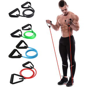 Workout Resistance Tensile Elastic Pull Tube. (4 Resistance Levels)