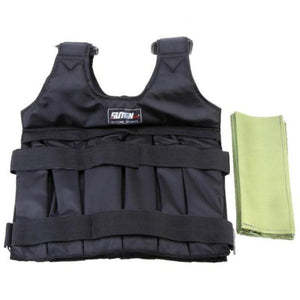 Workout, Boxing And Fitness Training Adjustable Weighted Vest. (20kg & 50kg Available)
