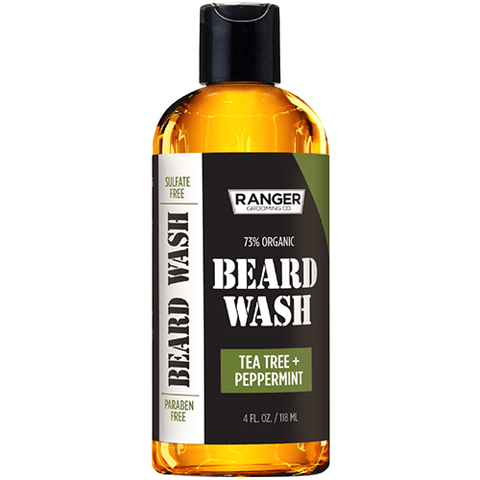 Beard Wash - Tea Tree + Peppermint