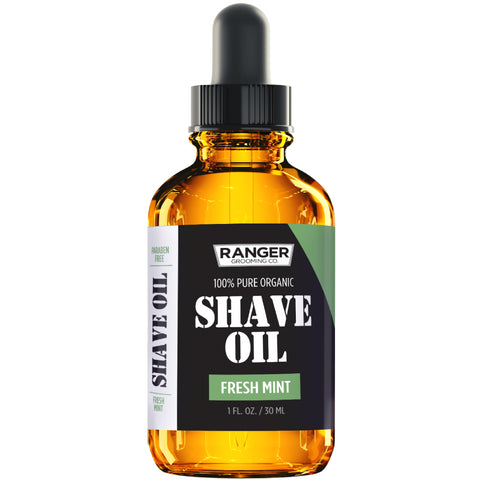 Shave Oil - Fresh Mint