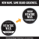 Beard & Mustache Wax - Fragrance Free