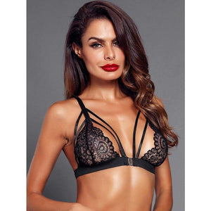 Harness Lace Bra - ShopHaya.com