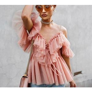 Julia Ruffle Flirty Blouse