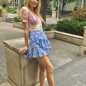 Sofia Blooming Floral Dress