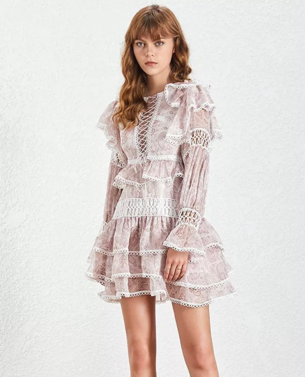 Skylar Endless Ruffle Dress