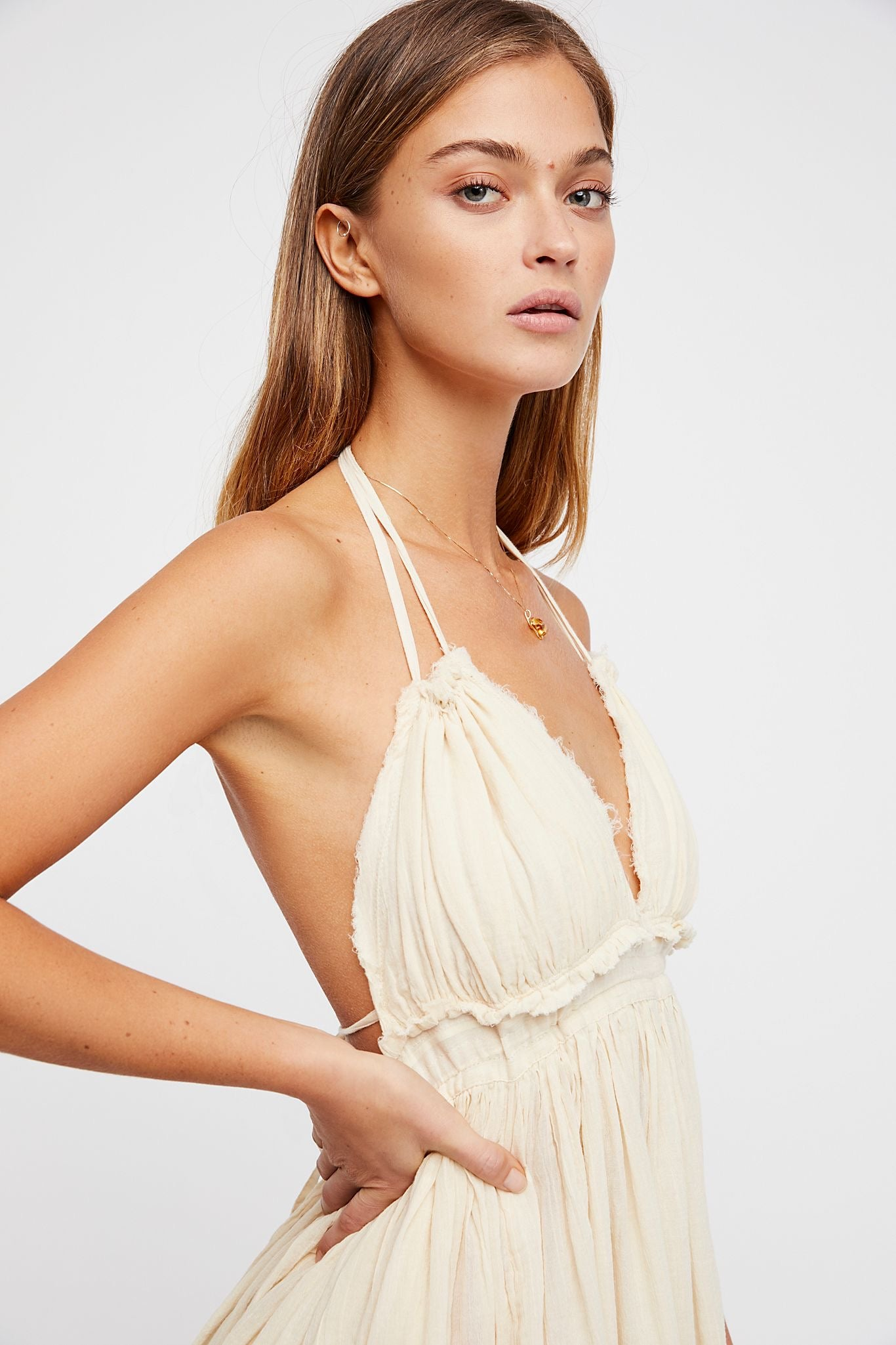 Maisie Boho Backless Dress