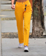 Worn By Bella Hadid: Streetstyle Cargo Pocket Pant