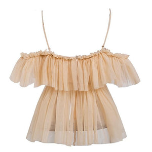Julia Ruffle Blouse - ShopHaya.com