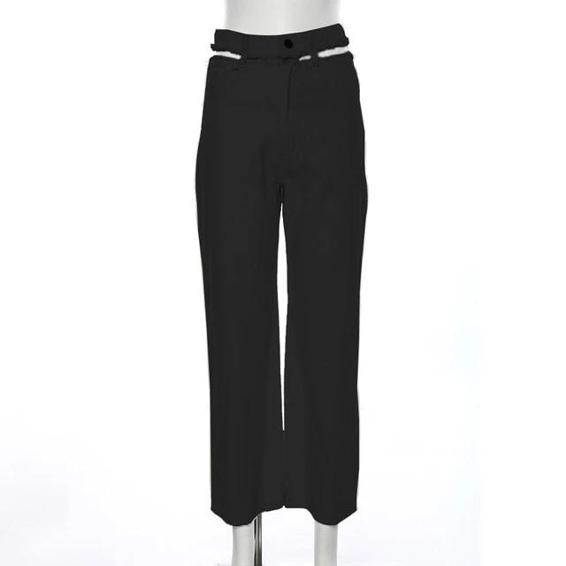 Cody High Streetwear Straight Pant