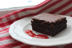 Gluten Free Brownies (with a secret ingredient!)