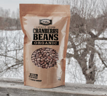 Certified Organic Cranberry Beans