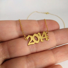 Load image into Gallery viewer, CUSTOM NUMBERS Necklace