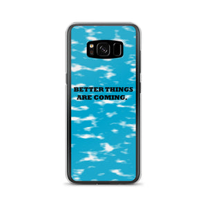 BETTER THINGS / blue/ Samsung Case