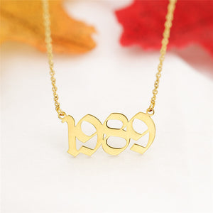 CUSTOM NUMBERS Necklace