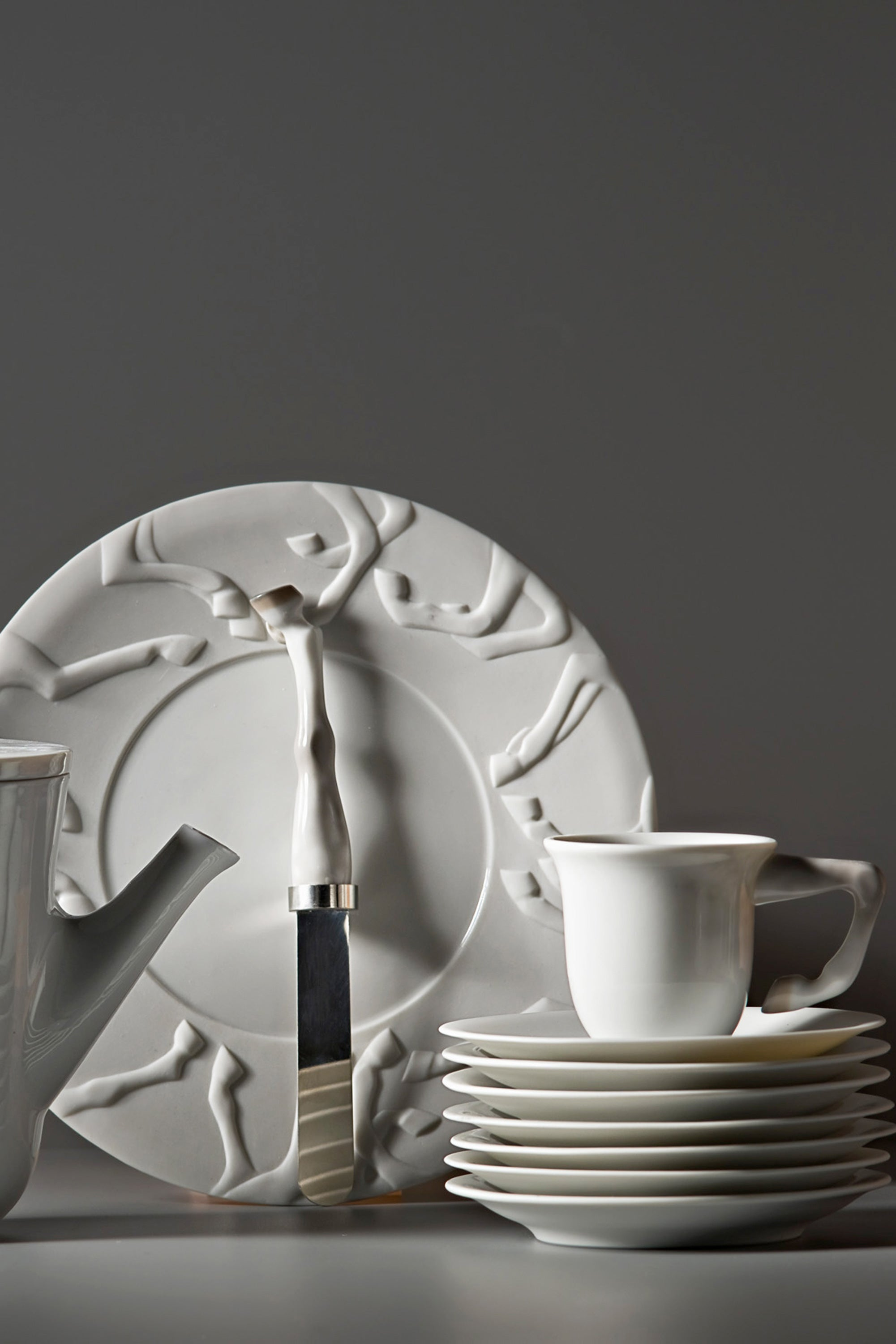 Lladro Equus Porcelain Tableware Collection Designed by London Based Studio Bodo Sperlein