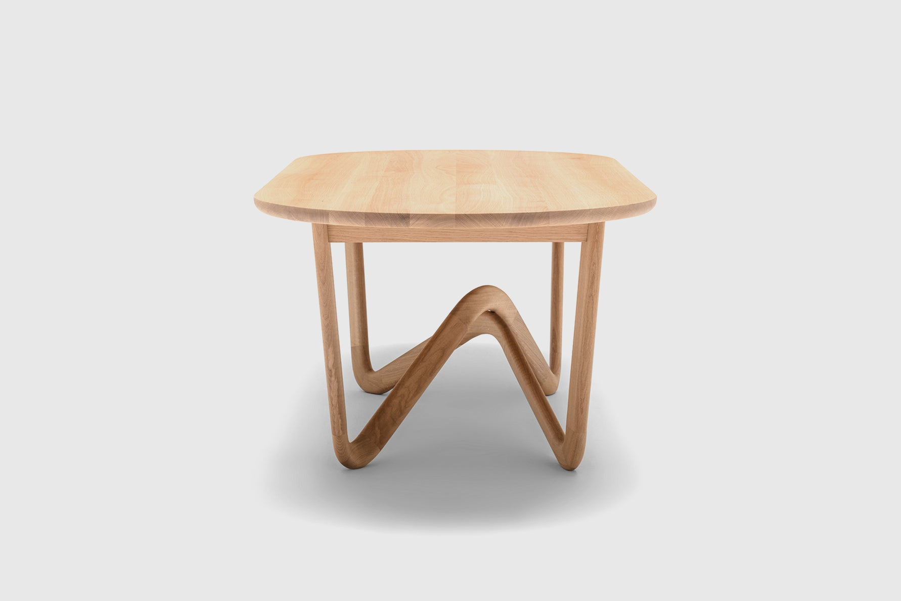 Bodo Sperlein Rolf Benz Oak Table 988