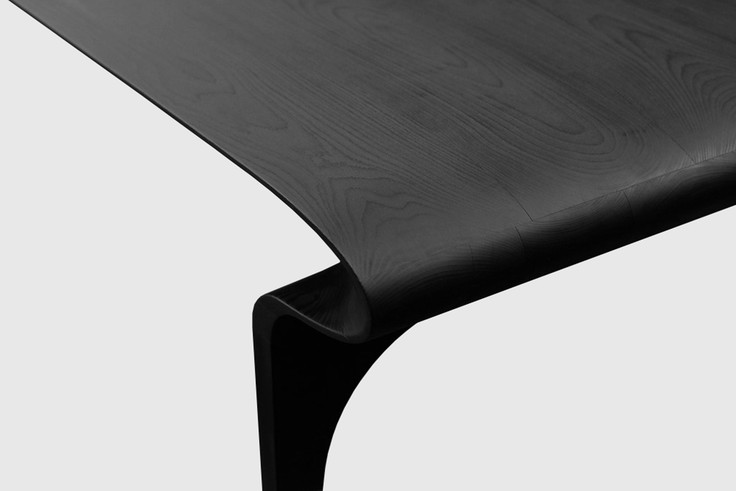 Bodo Sperlein Contour Table Shou Sugi Ban Furniture Design