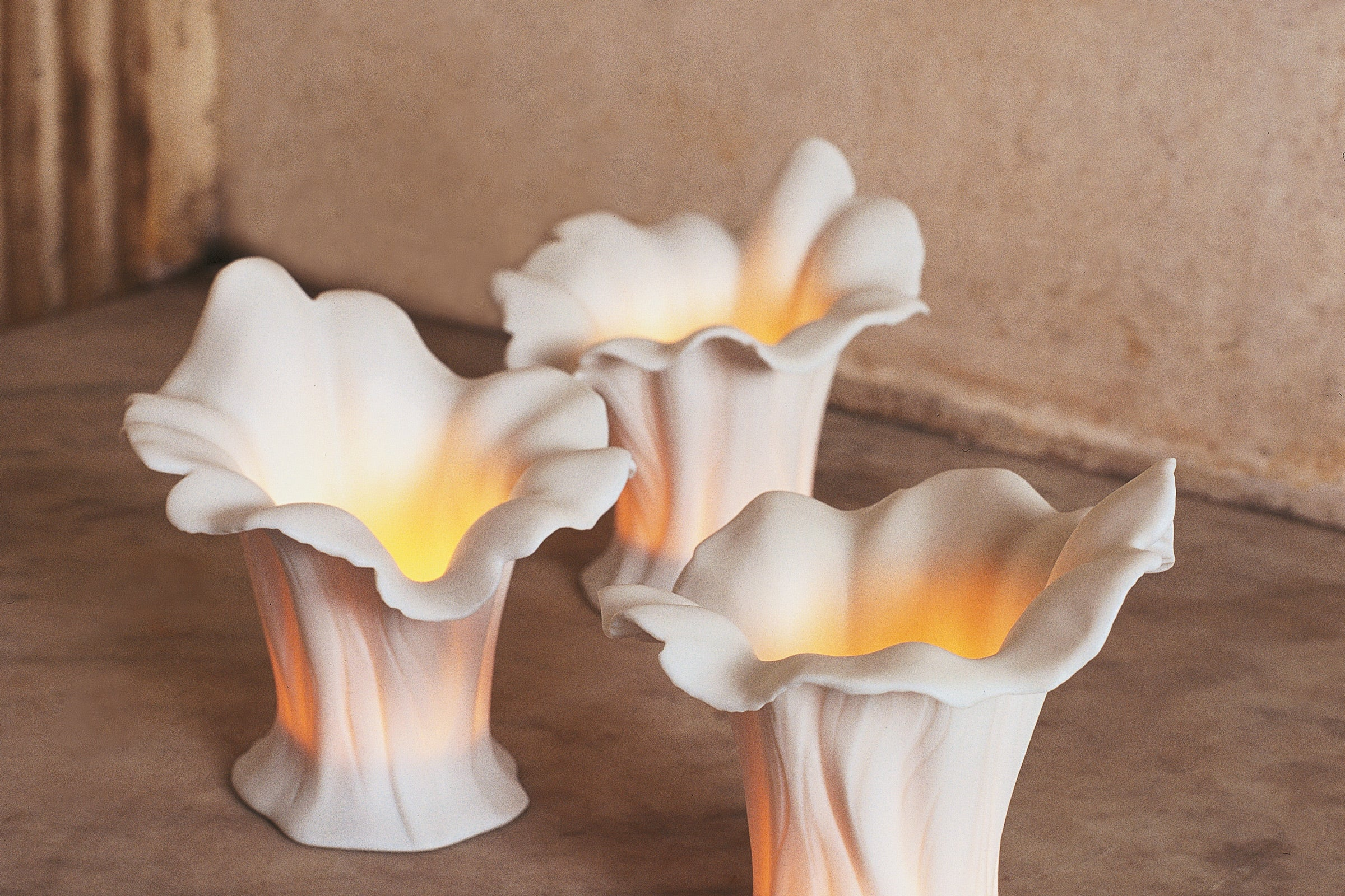 Lladro Porcelain Tea light Designed by London Based Studio Bodo Sperlein